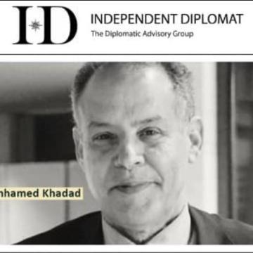 La ONG «Independent Diplomat»: La partida de Mhamed Jadad es una pérdida para un político experto en diplomacia y estrategia internacional