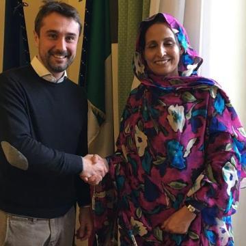 Fatima Mahfoud, nouvelle représentante sahraouie en Italie : «Plus que jamais déterminés à poursuivre notre lutte» – Algérie Patriotique (traducido al castellano por ECS)