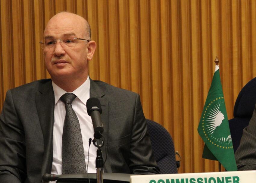 El comisario de Paz y Seguridad de la Unión Africana expresa su más sentido pésame por el fallecimiento de Mhamad Jadad   Sahara Press Service