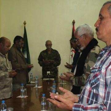 Presidente de la República saharaui preside reunión extraordinaria del buró permanente del Frente Polisario tras la pérdida física de Mhamad Jadad   Sahara Press Service