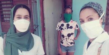 Cubainformacion – Jóvenes saharauis becadas por Cuba para ser doctoras, ahora ayudan a luchar contra el coronavirus en la isla