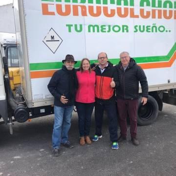 Donación de un camión a LA ASOCIACIÓN ESCRITORES POR EL SÁHARA – BUBISHER