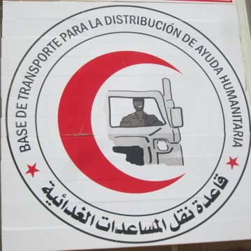 UNHCR Algeria was pleased to officially hand over five water trucks to the Sahrawi refugee community