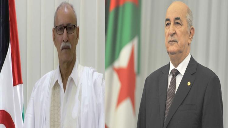 President of Republic congratulates his Algerian counterpart on Eid Al-Fitr | Sahara Press Service