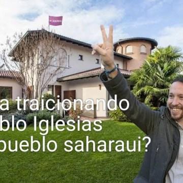 Un brindis al sol, Pablo Iglesias pide al ejecutivo de Sánchez reconocer a la República Saharaui – ECS