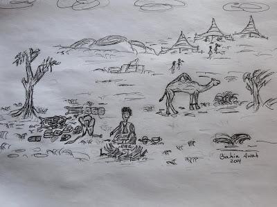 Generación de la Amistad saharaui: La estación en la que eclosionan libros, flores y crecen amigos