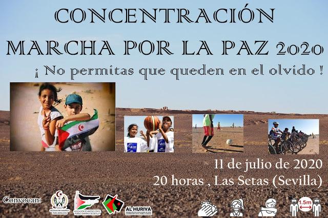 Sahara Sevilla: CONCENTRACIÓN -MARCHA POR LA PAZ 2020