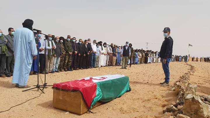Con mucho dolor y tristeza, el pueblo saharaui despide a Mhamed Jadad, legendario diplomático e icono de la lucha saharaui