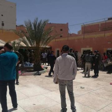 Sáhara Occidental   Las protestas de migrantes subsaharianos en El Aaiun ocupado revelan la crítica situación de su internamiento – El Salto