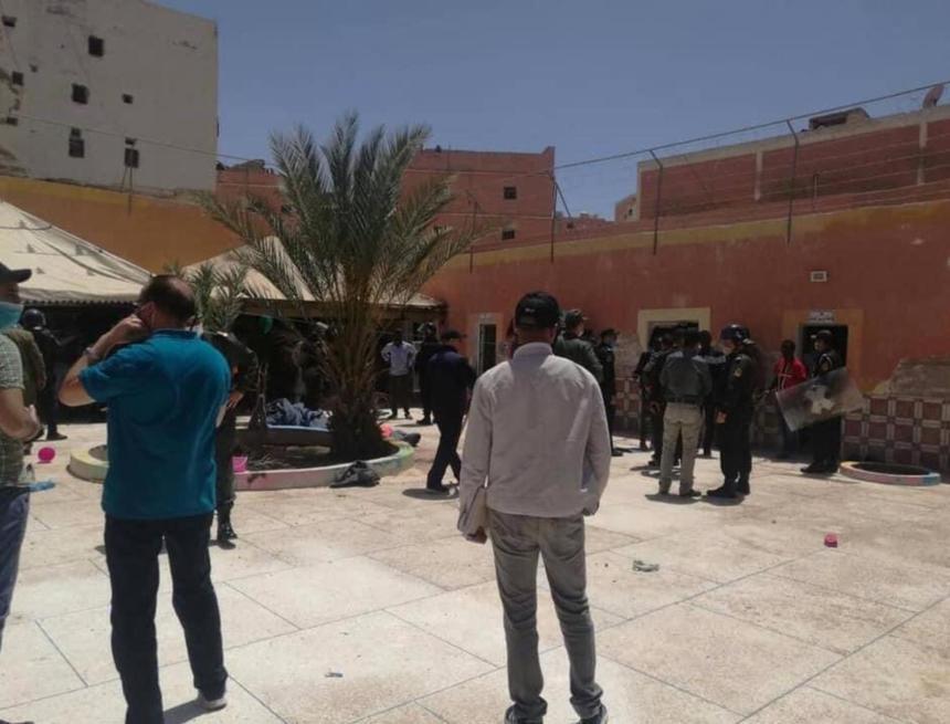 Sáhara Occidental | Las protestas de migrantes subsaharianos en El Aaiun ocupado revelan la crítica situación de su internamiento – El Salto