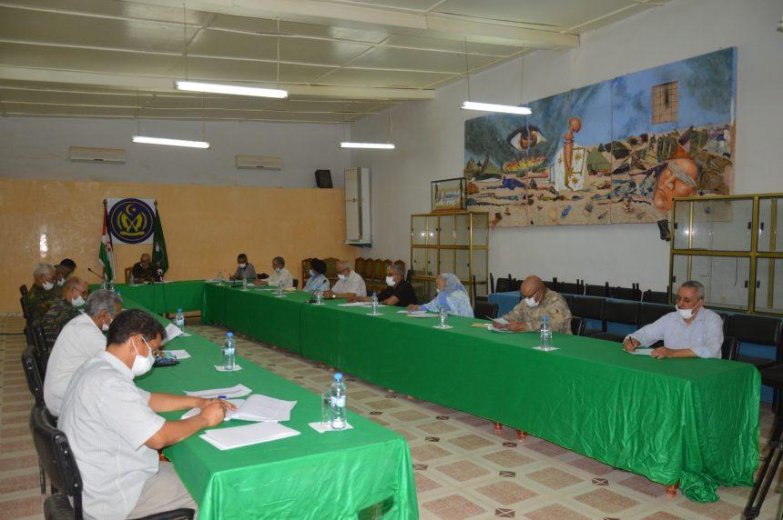 Brahim Gali preside reunión del Buró Permanente de la Secretaría Nacional saharaui