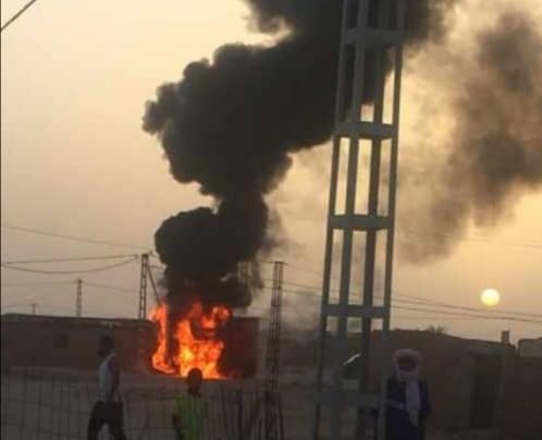 La altas temperaturas provocan incendios en los cuadros eléctricos en los campamentos saharauis