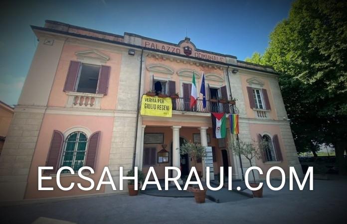 Vacaciones en Paz: Municipio italiano decide exhibir la bandera saharaui para recordar la no llegada de los pequeños embajadores de la causa saharaui