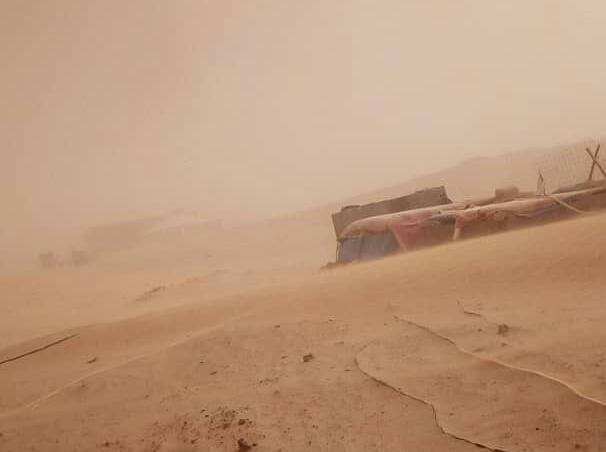 La ola de calor golpea a los campamentos saharauis con una intensidad sin precedentes