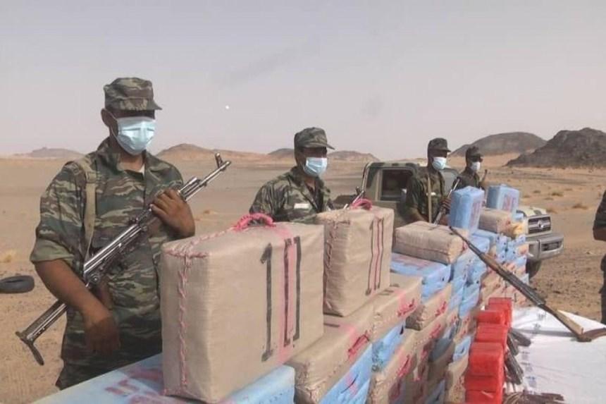 Incineran gran cantidad de droga procedente de Marruecos que fue incautada por unidades del Ejército Saharaui | Sahara Press Service