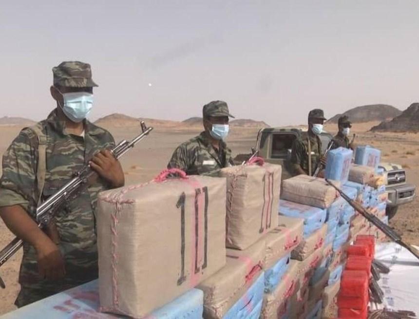 Incineran gran cantidad de droga procedente de Marruecos que fue incautada por unidades del Ejército Saharaui   Sahara Press Service