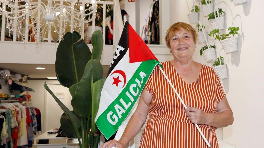 «La gente me pregunta si el momento más feliz es cuando los niños saharauis llegan a Galicia, yo siempre digo que el momento más feliz para mí es cuando se van, y veo que pueden regresar sanos a sus hogares y abrazar a sus familias»