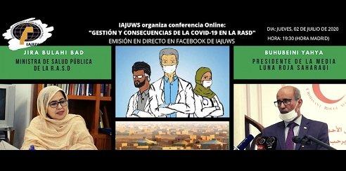 Conferencia online sobre impacto de la COVID-19 sobre la población saharaui