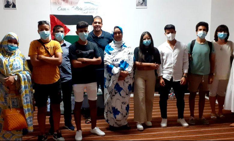 Delegada saharaui en Aragón mantienen reuniones y encuentros con autoridades de la región | Sahara Press Service