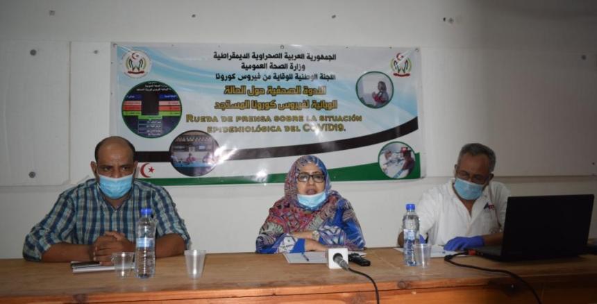 La Ministra de Salud Pública destaca la necesidad de acatar las medidas preventivas para evitar la propagación de la pandemia | Sahara Press Service