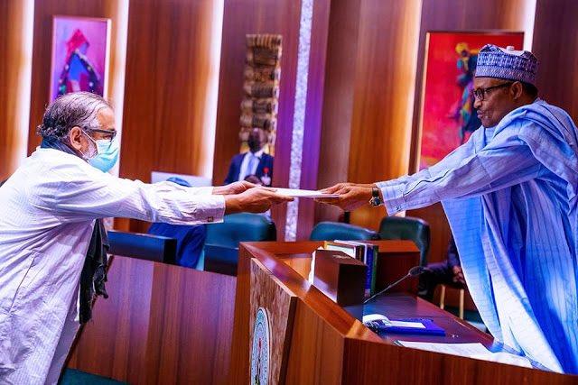 Presidente de Nigeria recibe Cartas Credenciales del nuevo embajador de la República Saharaui   Sahara Press Service