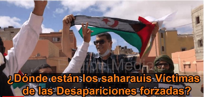 A pesar del bloqueo mantenido por Marruecos los saharauis conmemoran el #DíaInternacionaldelasVíctimasdeDesaparicionesForzadas | Equipemedia Sahara
