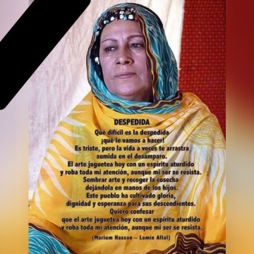 5 años de la muerte de Mariem Hassan ¡siempre contra el olvido del Sahara Occidental!