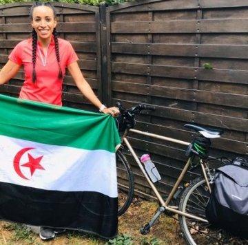 Rasdsport: Después de un largo viaje Mariam Naili ya está en su destino Ginebra 🇨🇭 #SaharaOccidental🇪🇭