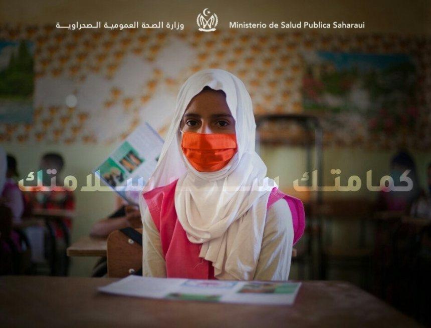 Jornadas de formación y sensibilización sobre la COVID-19 en los campamentos saharauis.