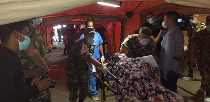 Pese a no tener aún casos de COVID-19 en los campamentos saharauis, Argelia  construye centro para eventual atención y aislamiento