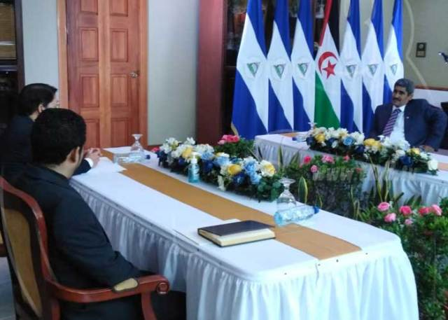 El nuevo embajador de la RASD en Nicaragua presenta sus cartas credenciales – El Portal Diplomatico