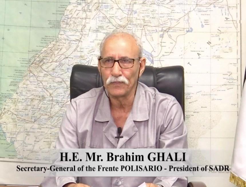 Brahim Gali: «La misión principal de la MINURSO es organizar el referéndum, y su desviación del mandato original debe corregirse sin demora»   Sahara Press Service