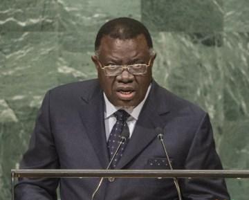 El presidente de Namibia: «Los Objetivos de la ONU en materia de Desarrollo Sostenible están condenados al fracaso mientras el pueblo saharaui sigue bajo ocupación | Sahara Press Service