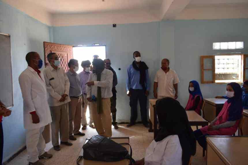 Campamentos saharauis: Inicia curso escolar en Escuela Secundaria Básica Simón Bolívar | Sahara Press Service