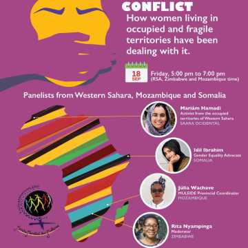 Women's March Global virtual symposium: the case of Sahrawi women as a model of human rights violations facing African women | Sahara Press Service