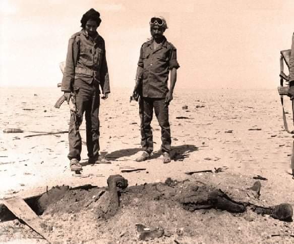 Cuando los soldados marroquíes quemaron vivos a cientos de mujeres y niños  saharauis.