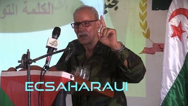 Sáhara Occidental: Contundente discurso de Brahim Ghali en la localidad liberada Ain Ben Tili con motivo de la Unidad Nacional Saharaui