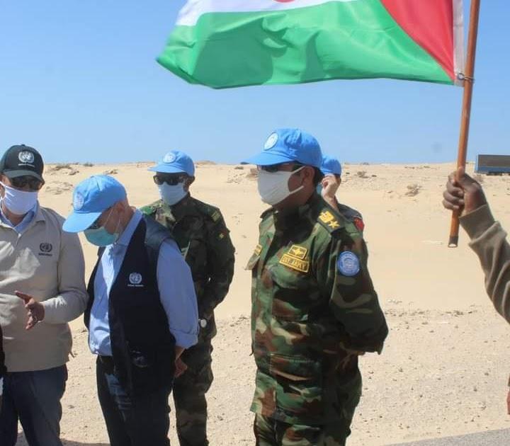 Sáhara Occidental: La brecha ilegal en El Guerguerat permanece totalmente cerrada por manifestantes saharauis