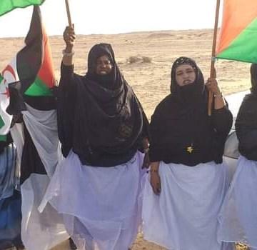 Nueve días de protestas contra la ocupación marroquí. La brecha ilegal en El Guerguerat permanece totalmente cerrada