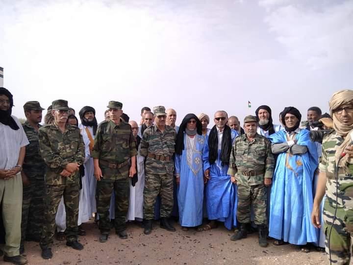 Acto de celebración del día de la Unidad Nacional Saharaui (fotos cedidas por ECS)