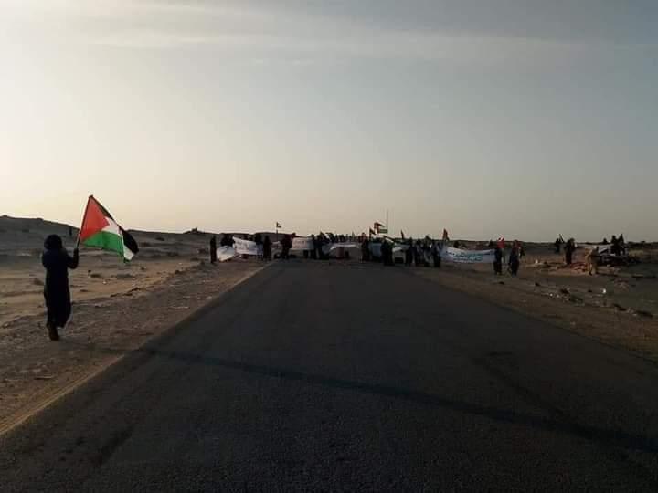 Resistencia pacífica: los civiles saharauis cierran la brecha ilegal abierta en Guergarat | El Portal Diplomático