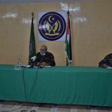 Brahim Ghali afirma que la principal tarea de la Misión de las Naciones Unidas en el Sáhara Occidental es organizar un referéndum de autodeterminación | Sahara Press Service