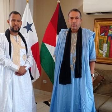 Nuevo embajador saharaui en la República Panamá, Sidahmed Derbali, presenta Copias de Estilo | Sahara Press Service