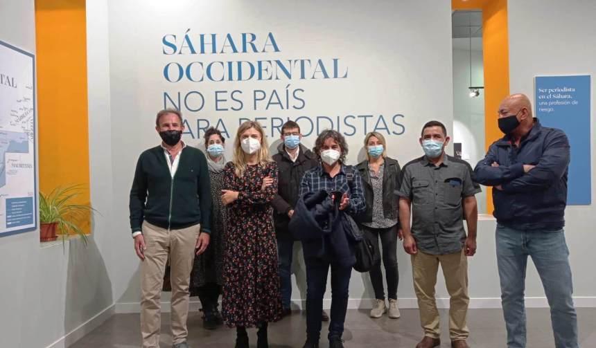"""La exposición """"Sáhara Occidental no es país para periodistas"""" muestra el bloqueo informativo bajo la ocupación marroquí   Sahara Press Service"""
