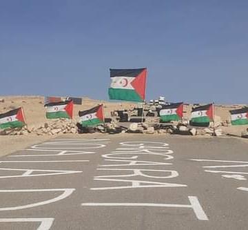 Sahara Occidental: LAS PROTESTAS CONTINÚAN EN EL GUERGUERAT