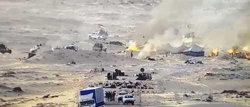 GUERRA EN EL SAHARA: Primeras Imágenes del ataque marroquí en la brecha ilegal en El Guerguerat