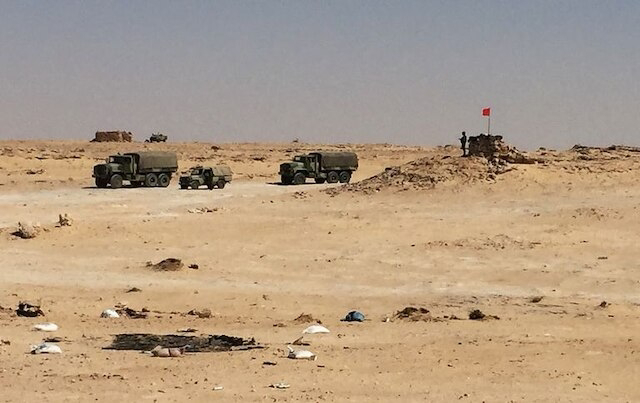 El Ejército marroquí se despliega en el perímetro fronterizo entre Mauritania y Guerguerat