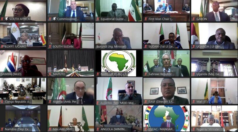 El Departamento de Seguridad y Defensa de la RASD participa en la 16 reunión de jefes de estado mayor africanos | El Portal Diplomático