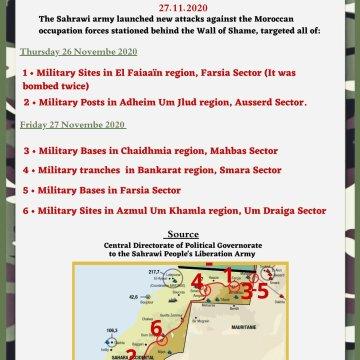 Guerra en el Sahara | Parte de Guerra N°15