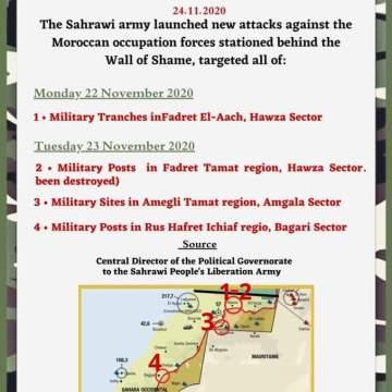 ¡ÚLTIMAS noticias – Sahara Occidental! | 24 de noviembre de 2020